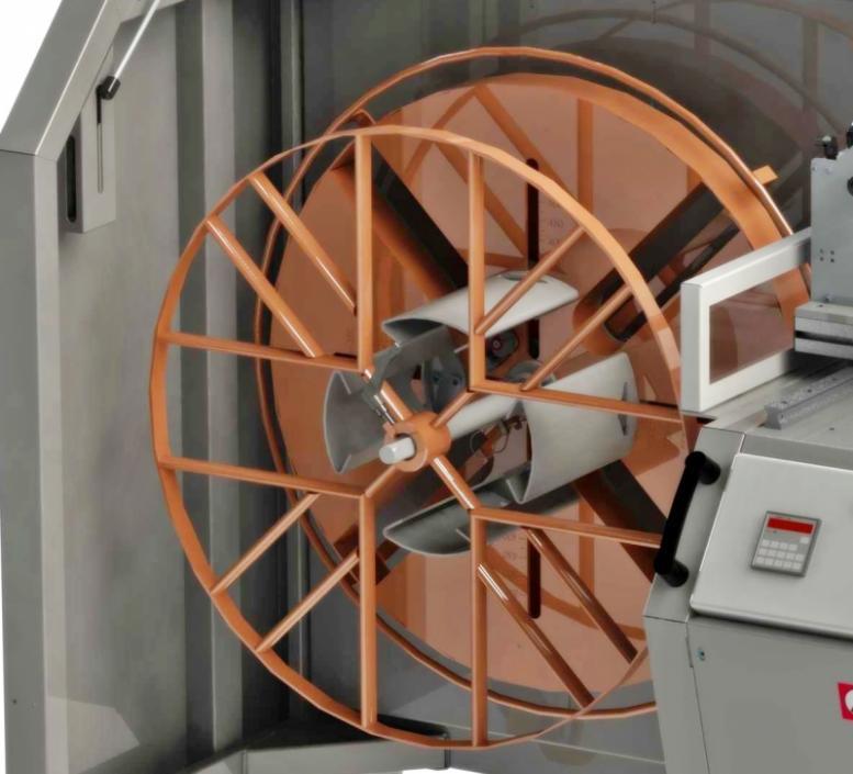 MOTROL 800  Ring- und Trommelwickelmaschine - Motorisch angetriebene Ring- und Trommelwickelmaschine