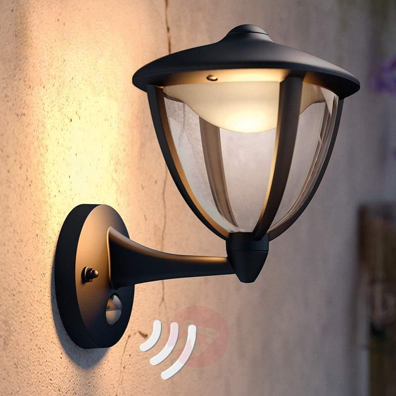 Robin outdoor wall light with sensor and LEDs - Outdoor Wall Lights