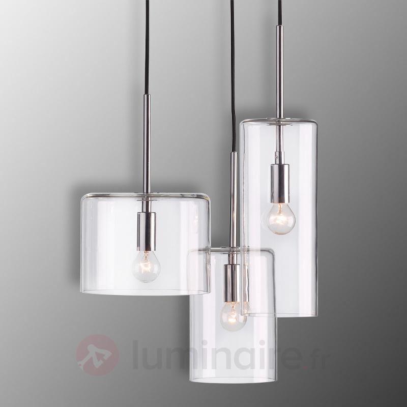 Suspension Merry à hauteur réglable à 3 lampes - Toutes les suspensions