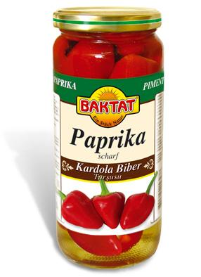 Paprika hot in brine - null