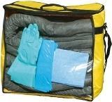 kit d'intervention tous liquides et chimiques - 70 litres - KTLC70L Kit anti-pollution absorbant