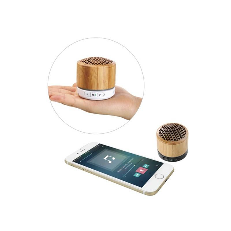 Enceinte Bluetooth Bambou - Enceintes Bluetooth
