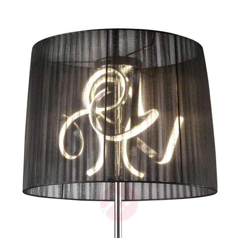 Stunning LED floor lamp Organza