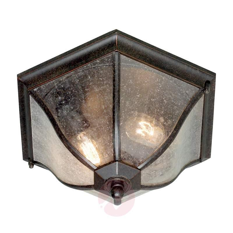 Bronze-coloured outdoor ceiling lamp New England - Outdoor Ceiling Lights