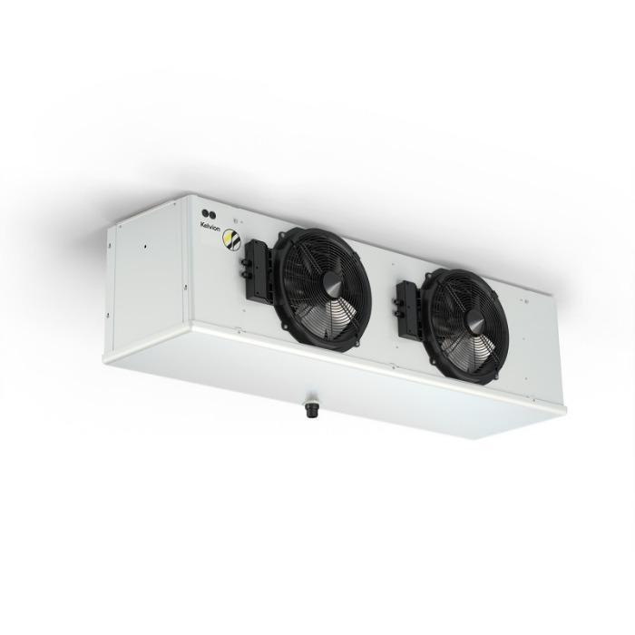 Chłodnice powietrza dla biur, gastronomii & handlu - Systemy chłodzenia dla komercyjnych urządzeń chłodniczych