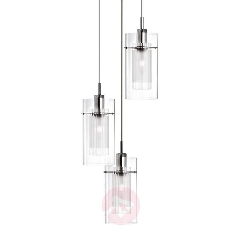 Decorative Duo 1 pendant lamp, round - Pendant Lighting