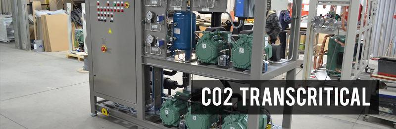 Compressor packs - CO2 Transcritical