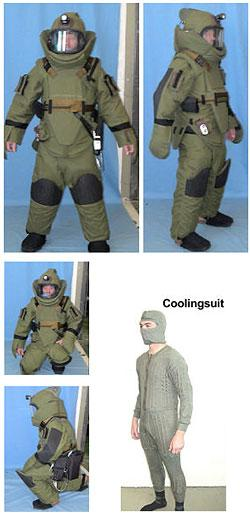 BPS-3 EOD SUIT - Combat Suits EOD Suits