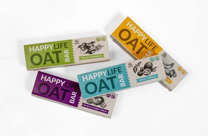 HAPPYLIFE OAT BAR – Organic oat bars  - Delicious no-bake oat bars full of tasty fruit and nuts.