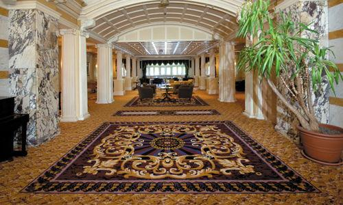 Carpets for hotels and resorts -