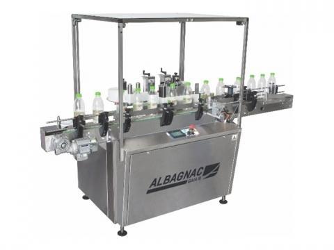 Automatische etiketteermachines - Etiketteermachine voor ronde producten en andere vormen: GAI