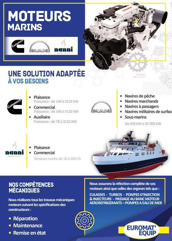 Moteurs marins - Moteurs marins pour la pêche (fluviale et servitude)