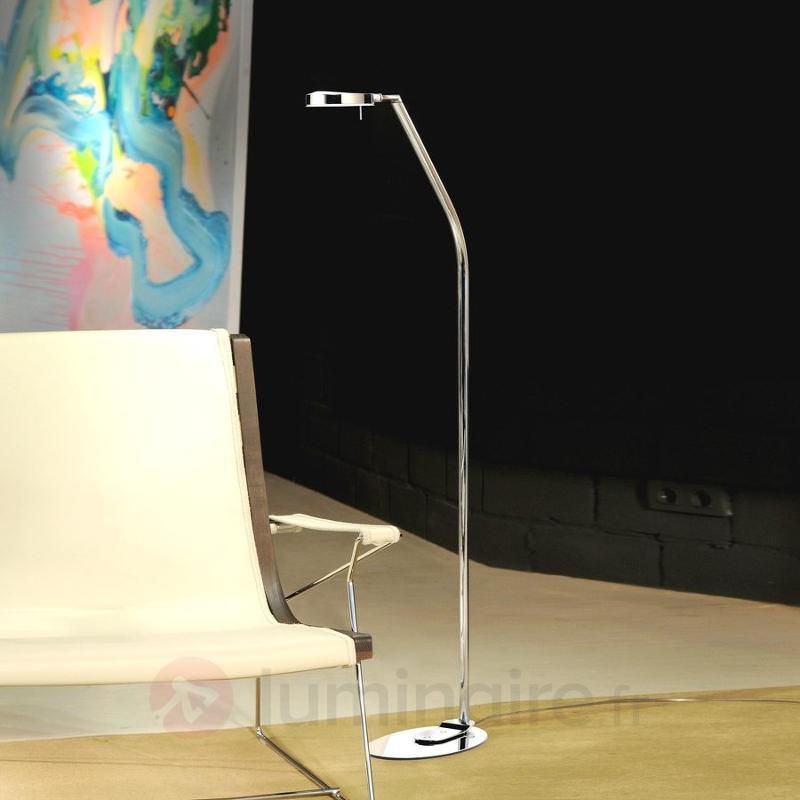 Lampadaire moderne à 1 lampe 3-LED 124,3 cm - Lampadaires LED