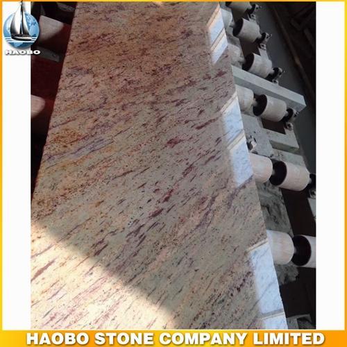 Polished Shivakashi Granite Slab For Kitchen Countertops