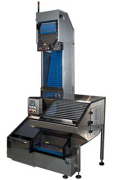 cap handling systems - ES24 Elevator Sorter