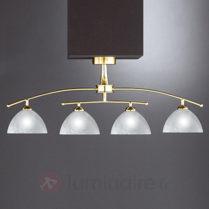 Plafonnier élégant PRESTIGE - Plafonniers laiton/dorés