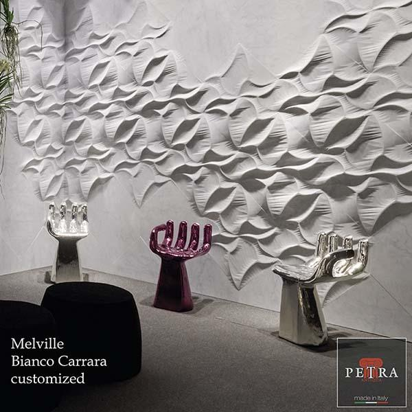 Melville Bianco Carrara customized