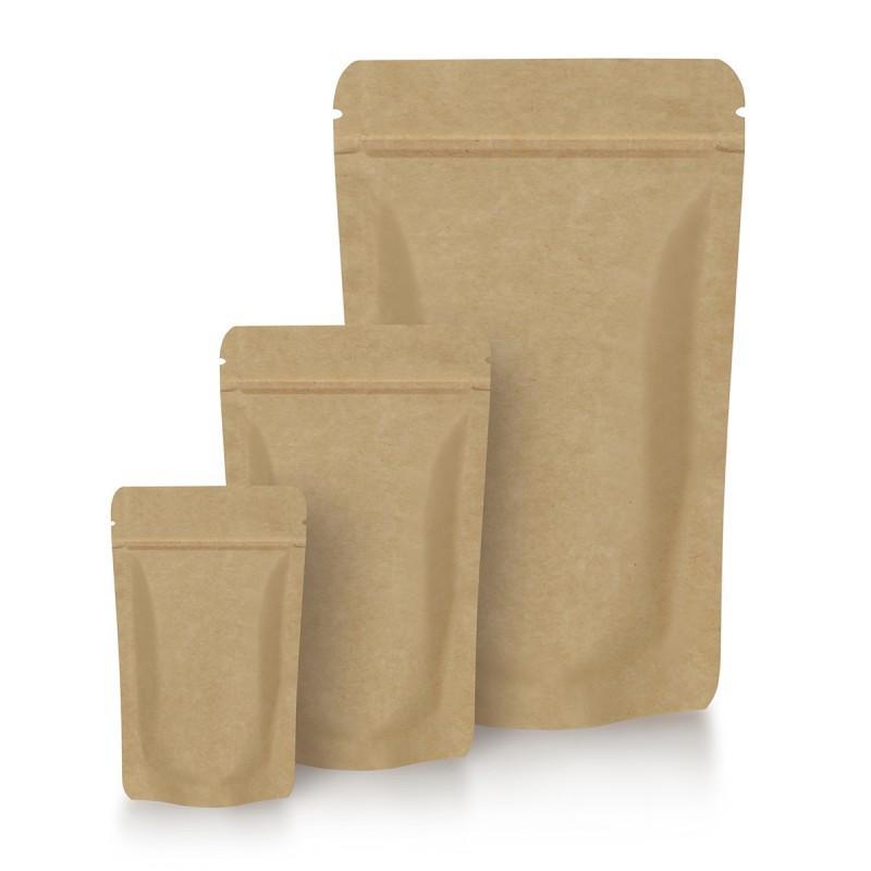 Standbodenbeutel Kraftpapier - Standbodenbeutel Kraftpapier