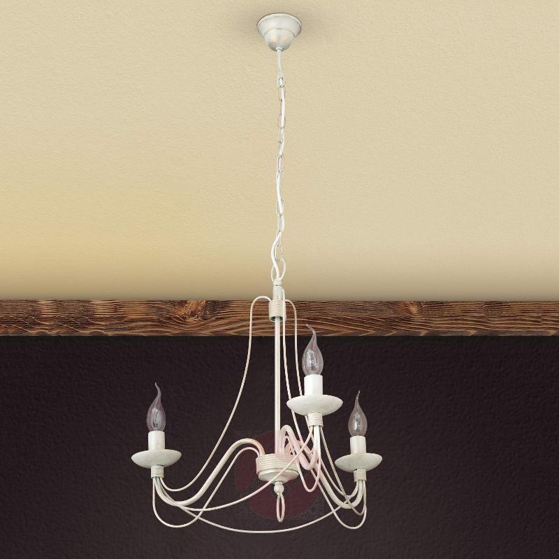 Delicate chandelier Antonina, 3-light - Chandeliers