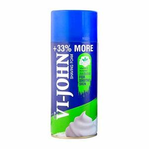Shave Foam - Sensitive, Hard & Sensitive Skin 400 Gm  - Shave Foam Anti-bacterial Tea Tree oil
