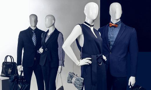 Mannequins Abstraits Homme et Femme