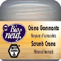 CREME GOMMANTE 50 ml Noyaux d'amandes - COSMETIQUE ECO