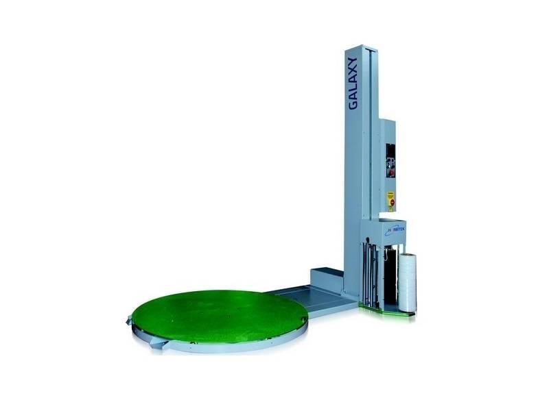 Wikkelmachine Galaxy met gemotoriseerde voorrek - Wikkelmachines - Draaitafel