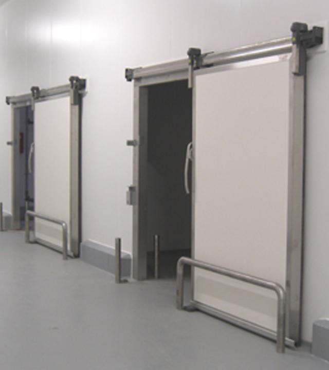 Porte coulissante isotherme SP400 - Portes pour l'agroalimentaire