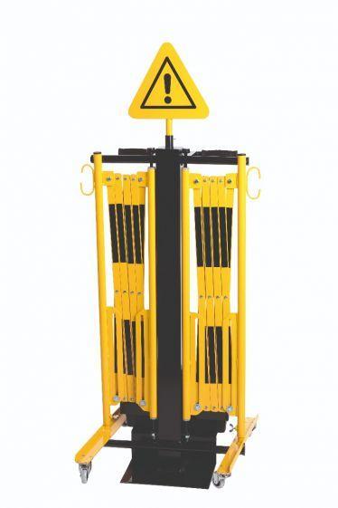 Chariot De Transport Avec Caisse D'outils - Barrières De Sécurité