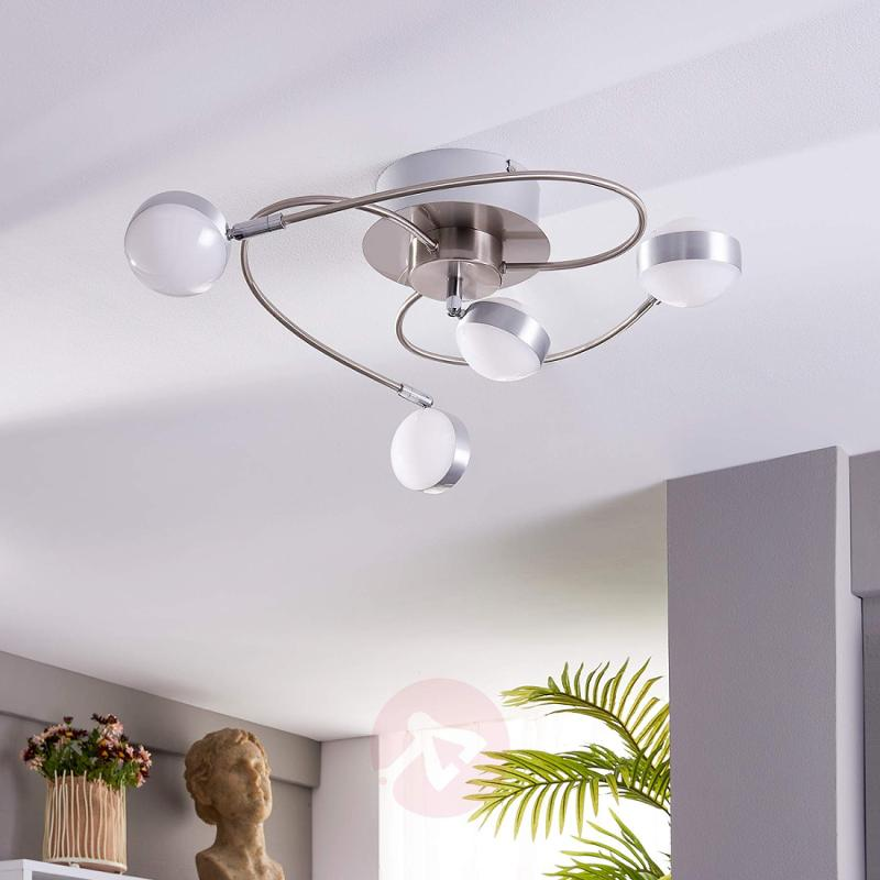 4-bulb Marlon LED ceiling lamp - indoor-lighting