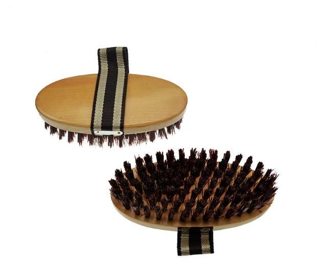 horse body cleaning brush - horse body brush / horse grooming brush/horse plastic dandy brush