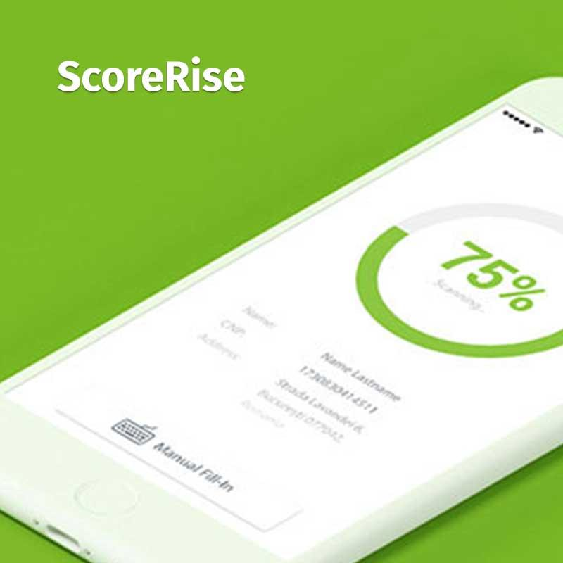 ScoreRise - iOS • UX Design • Visual Design • Interaction Design