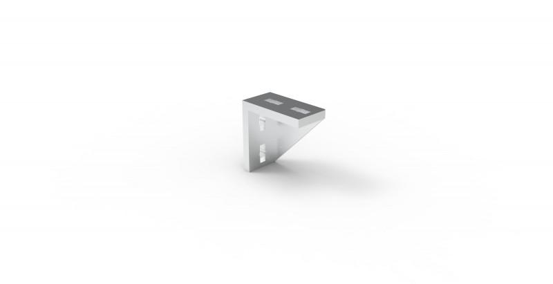 Square profile connecting elements MC System - Connecting elements for square profile system 45, aluminium and steel