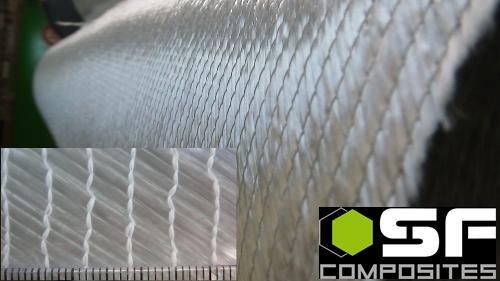 BI AXIAL VERRE 610 GR 127 cm - Fibre et renforts Tissus complexes, multi axes verre