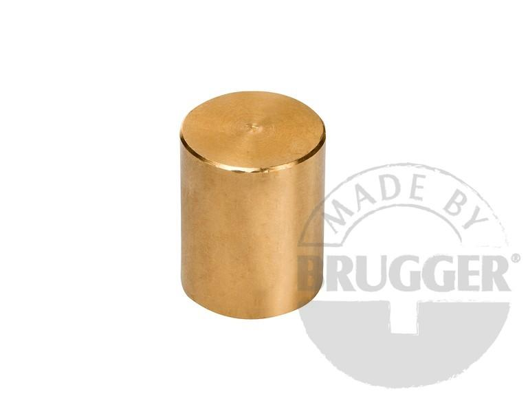 Bar magnet SmCo, brass body with fitting tolerance h6 - null