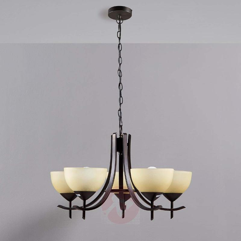 barrel black shades chandelier and axle glass lighting whats new shade for nickel crate
