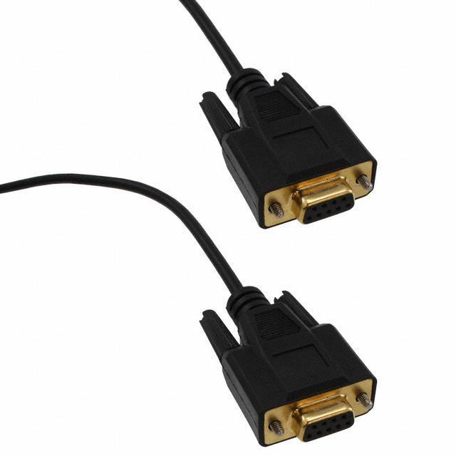 CABLE NULL MODEM DB9F TO DB9F - Tripp Lite P450-006