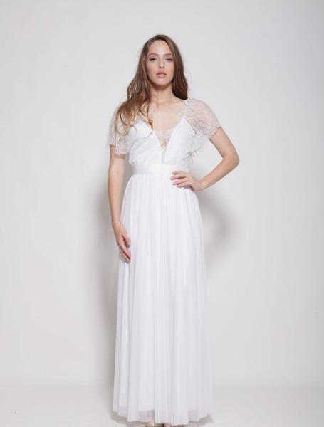 Robe de mariée en dentelle -