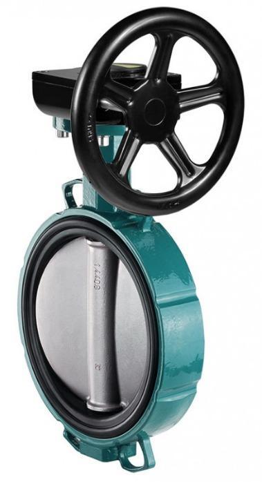 GEMÜ 487 - Válvula borboleta de acionamento manual