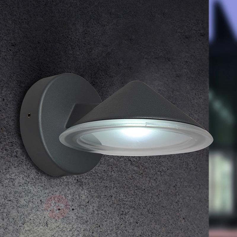 Applique d'extérieur LED Cone à une lampe - Appliques d'extérieur LED