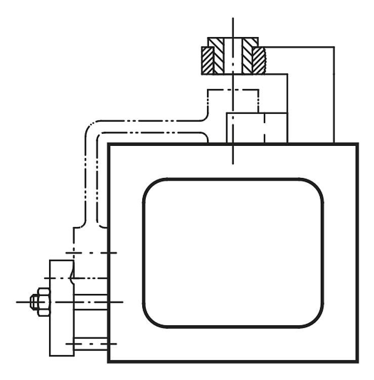 Profil creux rectangulaire Fonte grise - Profilés