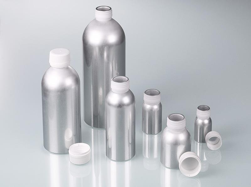 Aluminium-Flasche - Verpackung mit UN-Zulassung