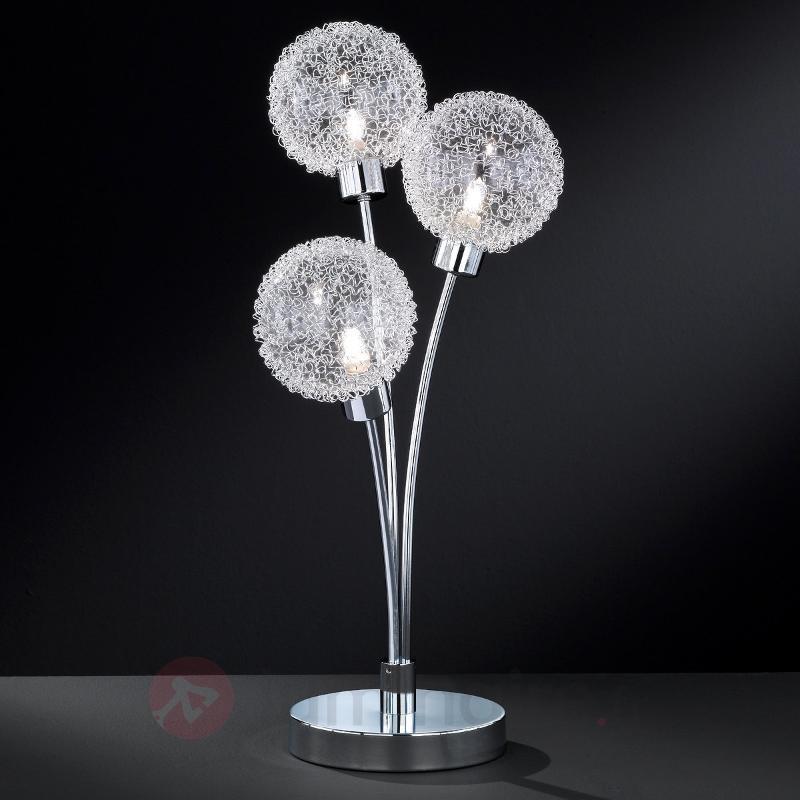 Lampe à poser à 3 ampoules ARC - Lampes à poser pour rebord de fenêtre