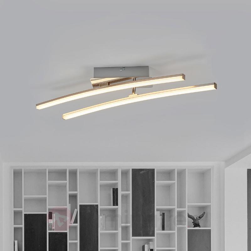 Plafonnier LED Simon à deux bras - Plafonniers LED