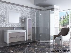 "Bathroom furniture set ""Ticino"""