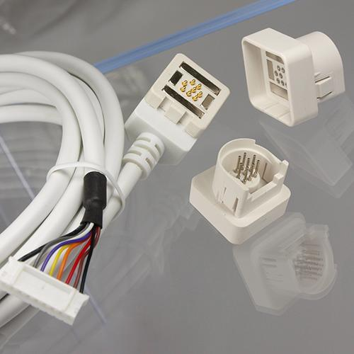 Magnetic Connector with Pogo Pins and Cable Assembly - customized product