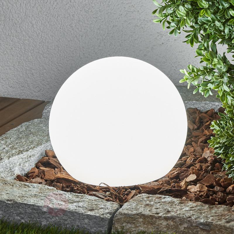Lampes solaires LED par 3 Lago, sphères - Toutes les lampes solaires