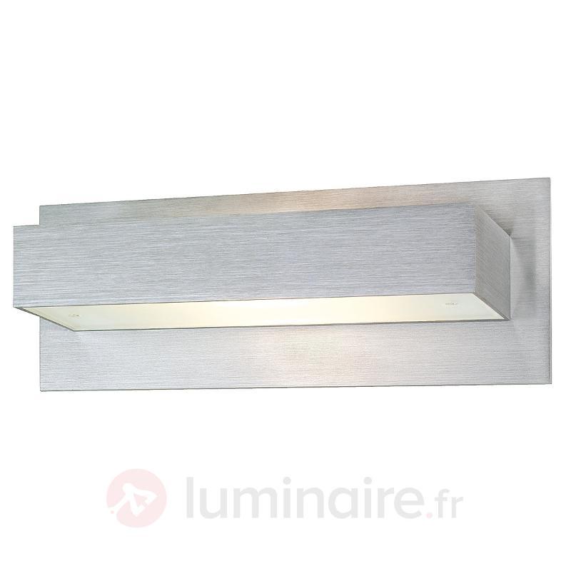 Applique moderne Tani en aluminium - Appliques chromées/nickel/inox
