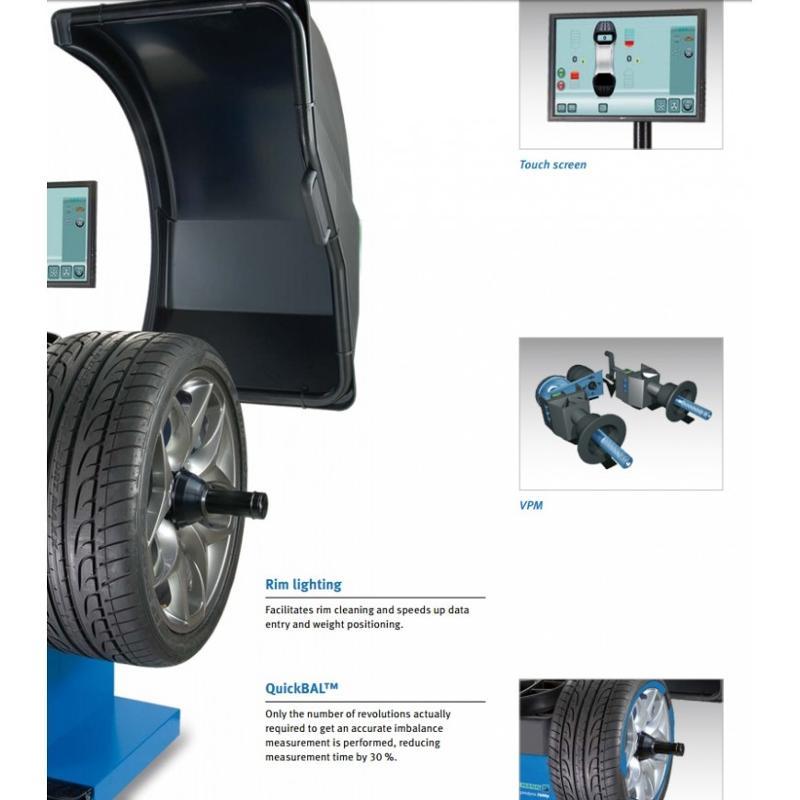 Equilibreuse de roue - HOFMANN GEODYNA 7600p/7600l