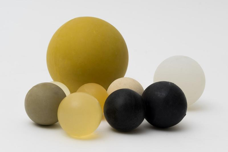 Sifting balls in Neoprene (CR) - Balls created for the continuous cleaning of sieves without interruptions.